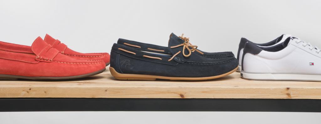Mocassins, chaussures bateaux et sneakers
